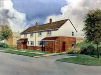 Artist's Impression.House Modernisation
