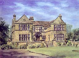 Tim Rose Artist impressions architectural perspectives Baslow Hall