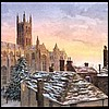 Corporate chistmas cards  Canterbury-Cathedral